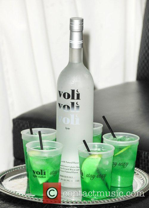 Atmosphere Voli Light Vodka's celebrate the launch of...