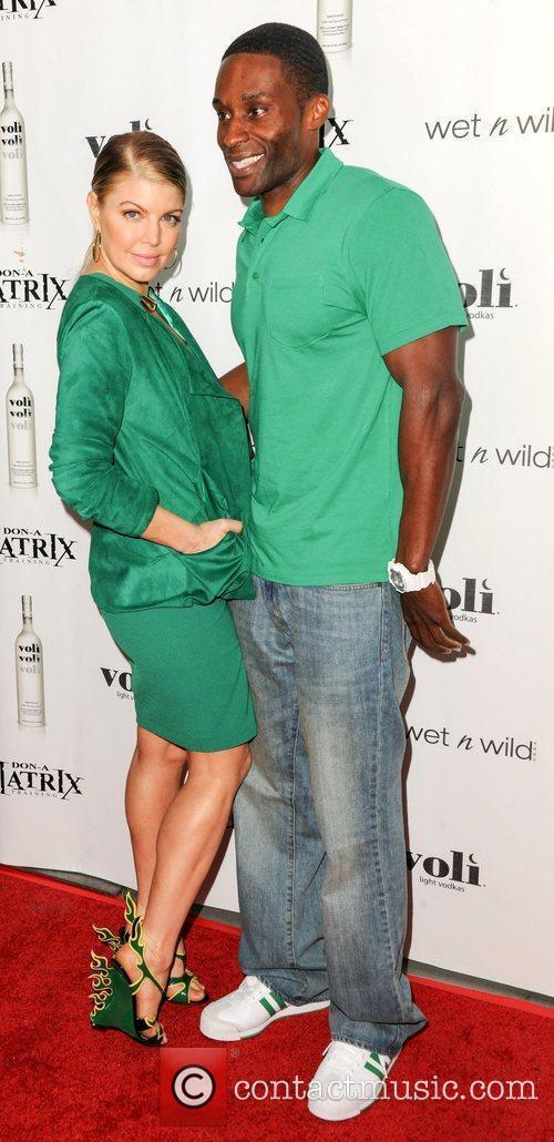 Fergie and Don-A-Matrix Voli Light Vodka's celebrate the...