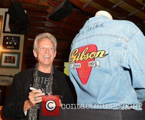 Don Felder at his Don Felder Memorabilia donation...