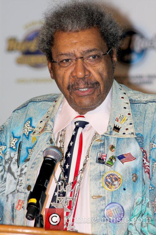 Press Conference for the Viva Don King II...