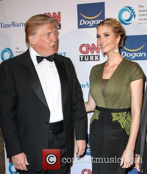 Donald Trump and Ivanka Trump at The Turkish...