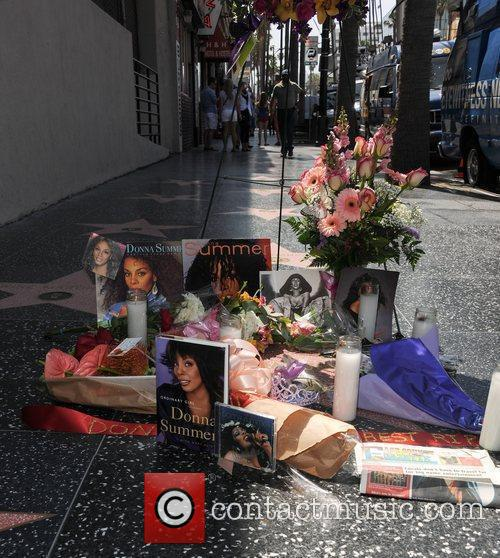 Star of Donna Summer on The Hollywood Walk...