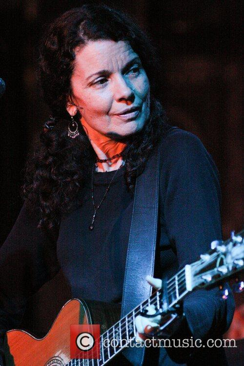 Tara Nevins Donna The Buffalo perform live at...