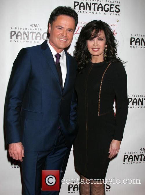 Donny, Marie Osmond's Christmas and Pantages Theater 3