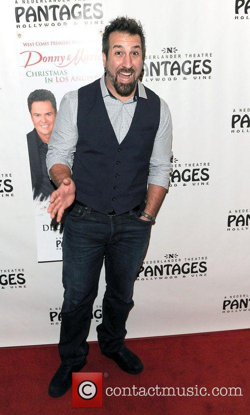 Joey Fatone,  at the Donny & Marie...
