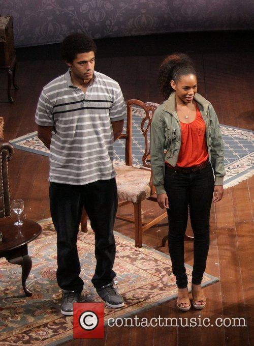 Maxx Brewer and Angela Lewis  Opening night...