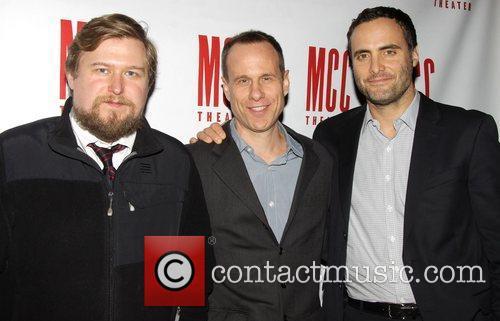 Michael Chernus, Stephen Belber and Dominic Fumusa...