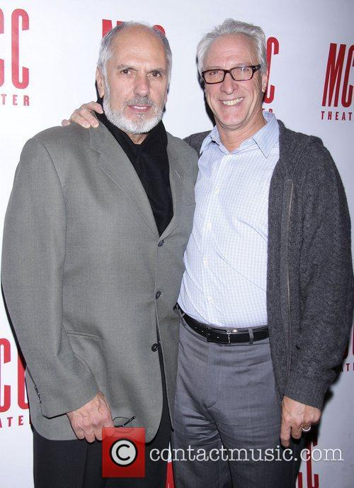 Michael Cristofer and Robert LuPone  Opening night...