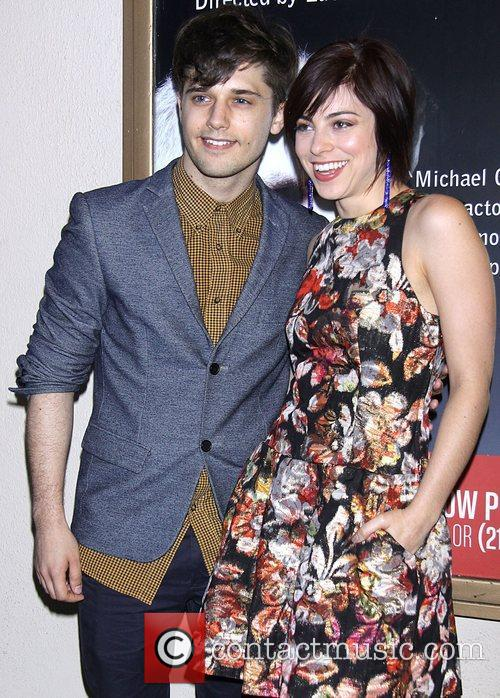 Andy Mientus and Krysta Rodriguez  Opening night...
