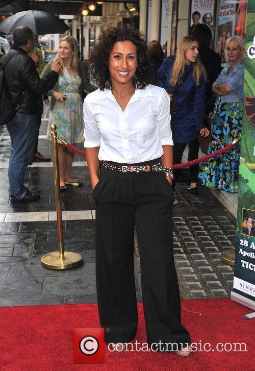 Saira Khan Celebrity & Press Performance of Nickelodeon's...