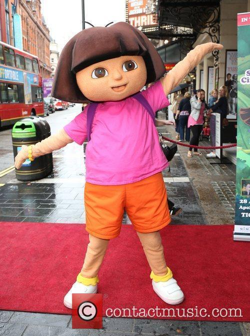 Dora the Explorer Celebrity & Press Performance of...