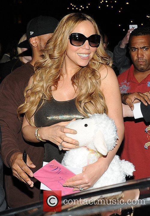 Mariah Carey and Dorchester Hotel 8