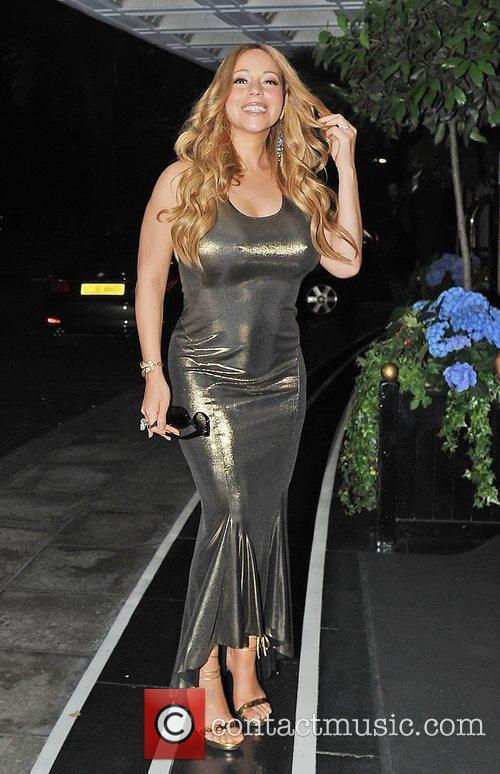 Mariah Carey and Dorchester Hotel 7
