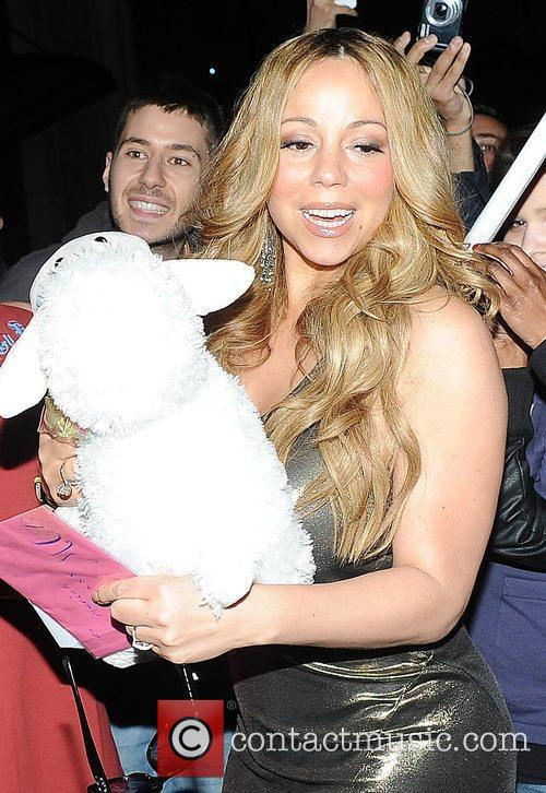 Mariah Carey and Dorchester Hotel 10