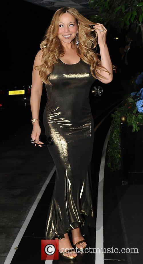 mariah carey at the dorchester hotel london 3963556