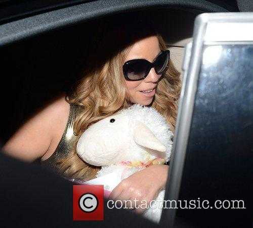 Mariah Carey and Dorchester Hotel 9