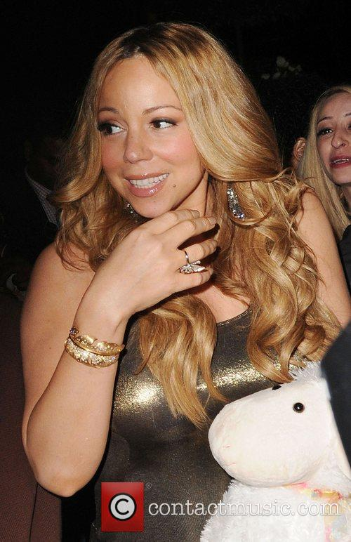 Mariah Carey and Dorchester Hotel 11
