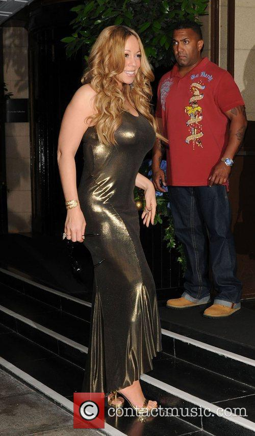 Mariah Carey and Dorchester Hotel 12