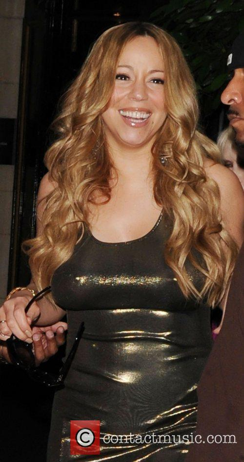 Mariah Carey and Dorchester Hotel 1