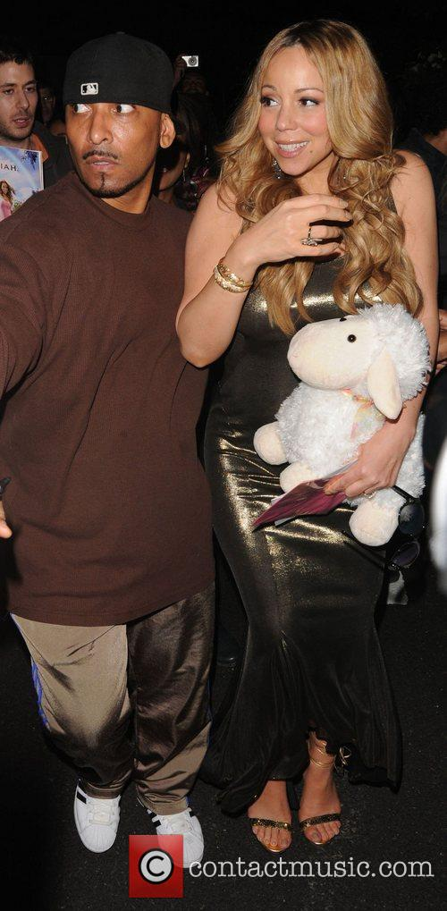 Mariah Carey and Dorchester Hotel 16