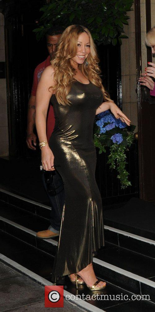 Mariah Carey and Dorchester Hotel 18