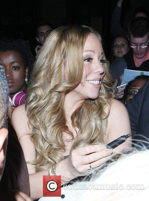 Mariah Carey and Dorchester Hotel 19