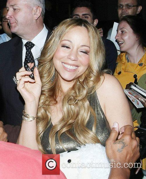 Mariah Carey and Dorchester Hotel 20