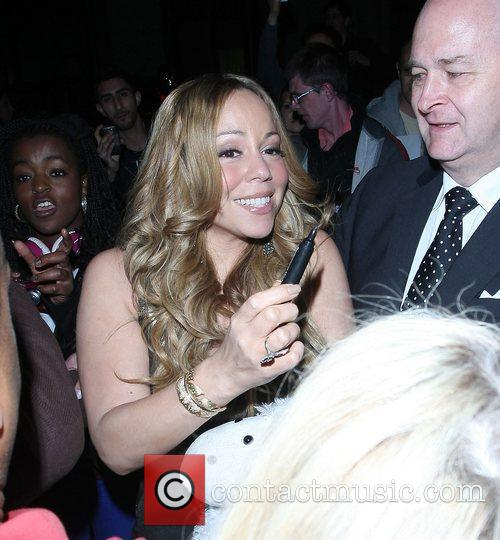 Mariah Carey and Dorchester Hotel 21