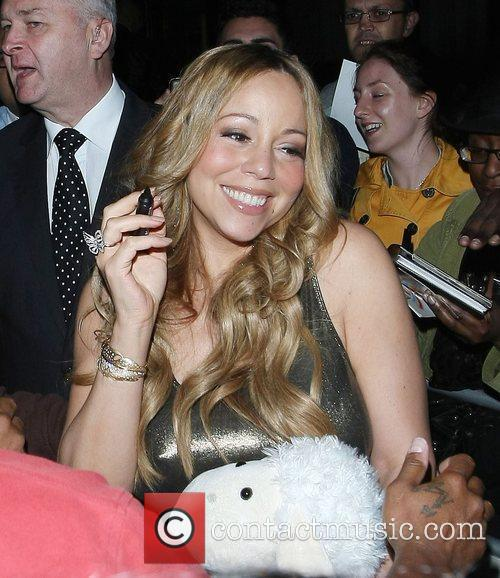 Mariah Carey and Dorchester Hotel 22