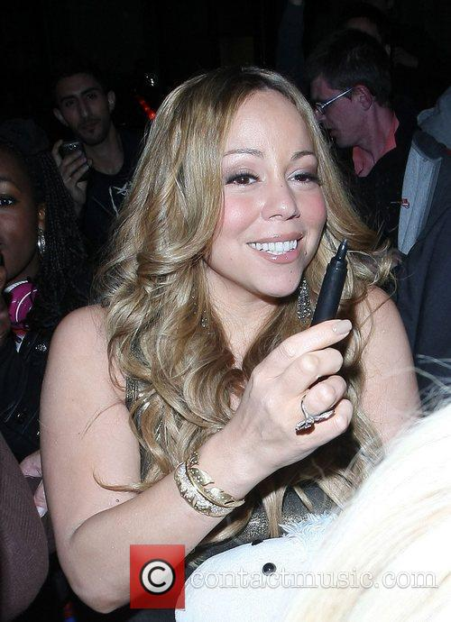 Mariah Carey and Dorchester Hotel 23