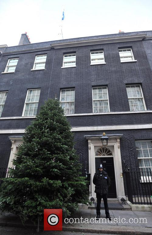 The British Christmas Tree, Christmas, Growers Association, Downing Street