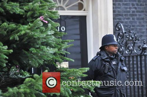 The British Christmas Tree, Christmas, Growers Association and Downing Street 1