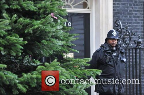 The British Christmas Tree, Christmas, Growers Association and Downing Street 2