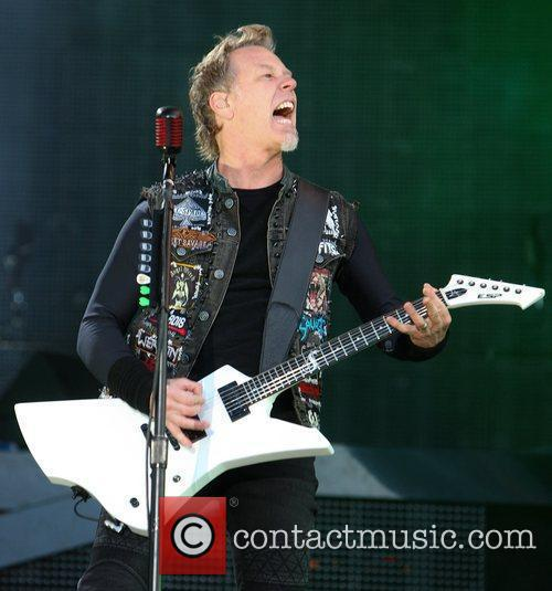 James Hetfield, Metallica and Download Festival 3
