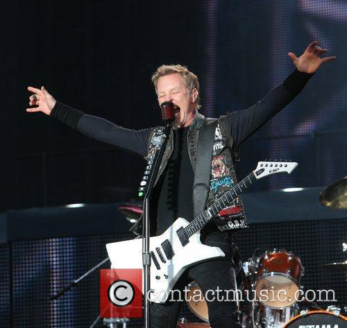 James Hetfield, Metallica and Download Festival 5