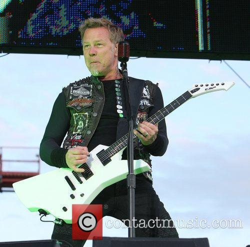 James Hetfield, Metallica and Download Festival 9