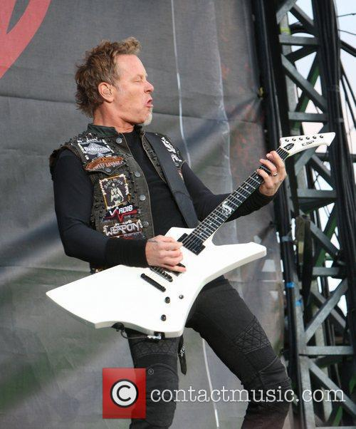 James Hetfield, Metallica and Download Festival 11