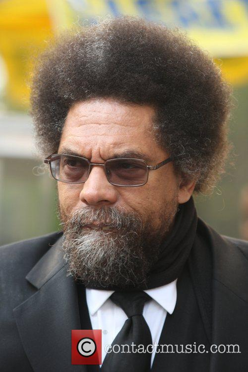 Dr. Cornel West  out and about in...