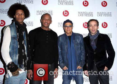 Guest, Dr Dre, Jimmy Lovine and Luke Wood 2