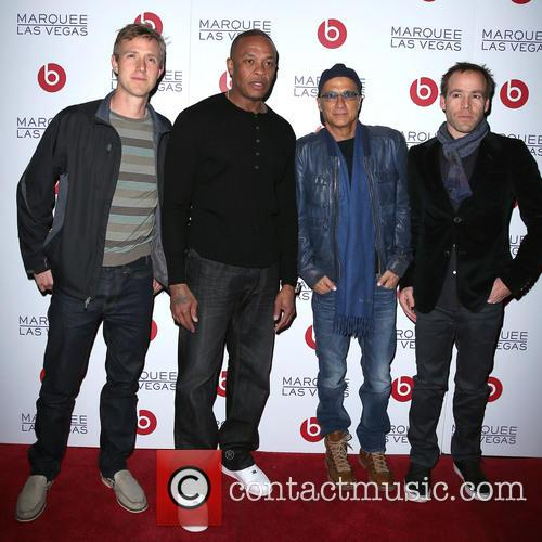 Ian Rodgers, Dr Dre, Jimmy Lovine and Luke Wood 1