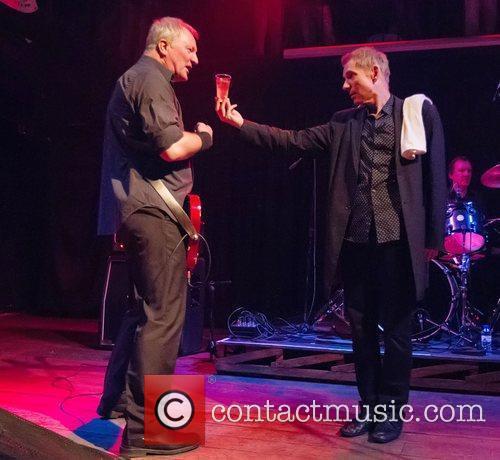 Steve Walwyn and Robert Kane Dr. Feelgood performing...