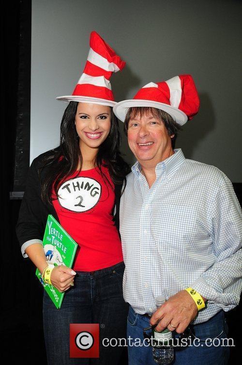 Author Dave Barry (R) and NBC 6 Anchor...