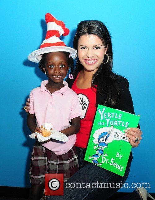 NBC 6 Anchor Roxanne Vargas during Dr. Seuss...
