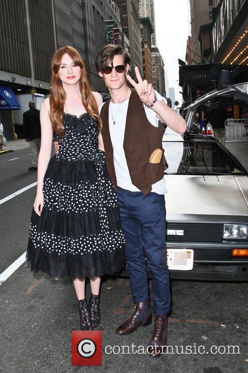 Matt Smith, Karen Gillan and Ziegfeld Theatre 2