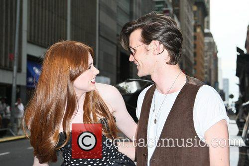 Matt Smith, Karen Gillan and Ziegfeld Theatre 3