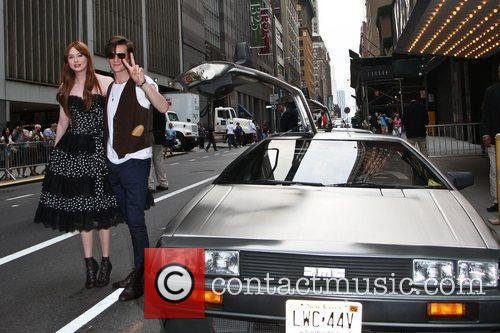 Matt Smith, Karen Gillan and Ziegfeld Theatre 4