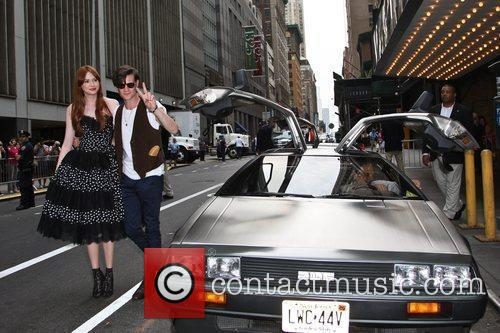 Matt Smith, Karen Gillan and Ziegfeld Theatre 5