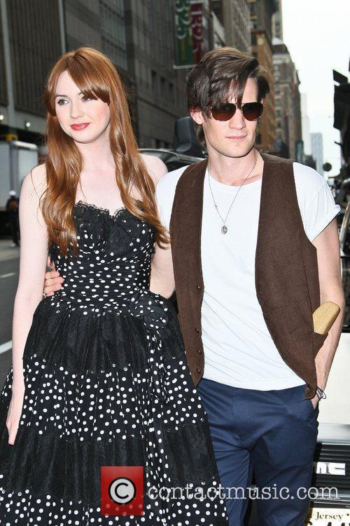 Matt Smith, Karen Gillan and Ziegfeld Theatre 6