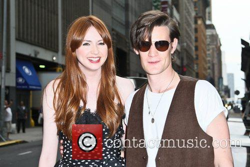 Matt Smith, Karen Gillan and Ziegfeld Theatre 7