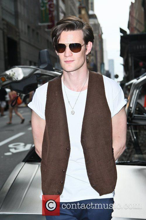 Matt Smith and Ziegfeld Theatre 1
